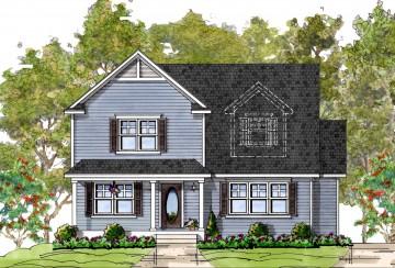 Milligan RL custom home