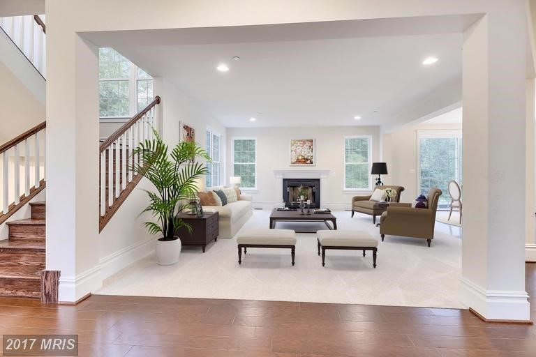 Living Rooms Photos. New Homes in Central Maryland