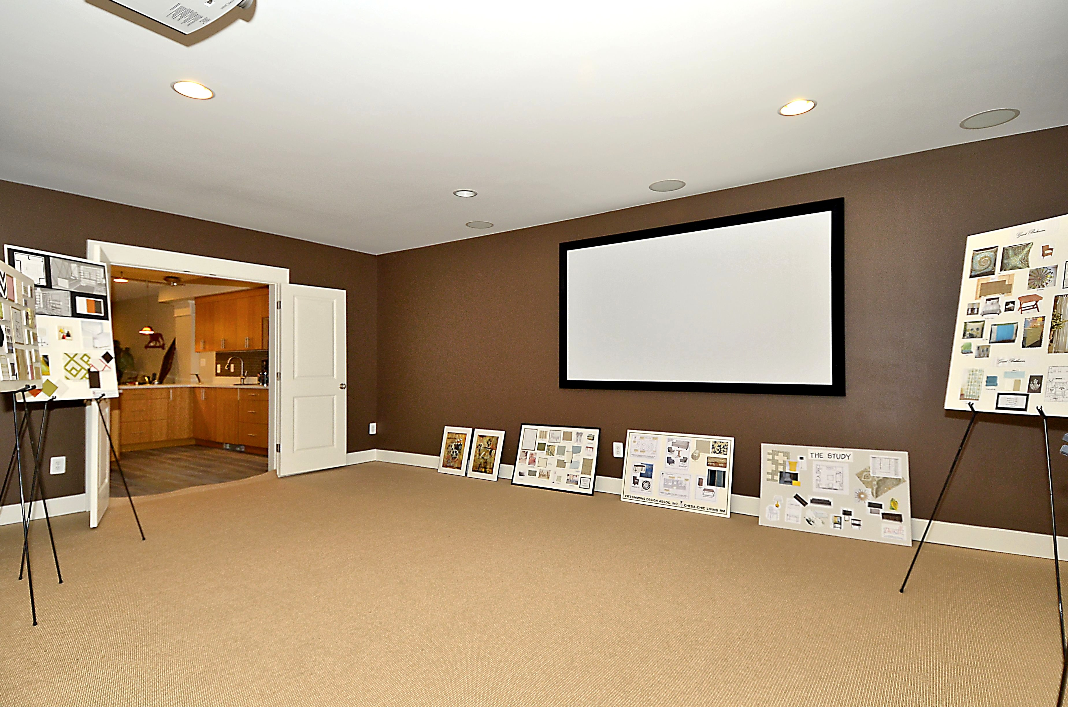 Basements Photos. New Homes in Central Maryland