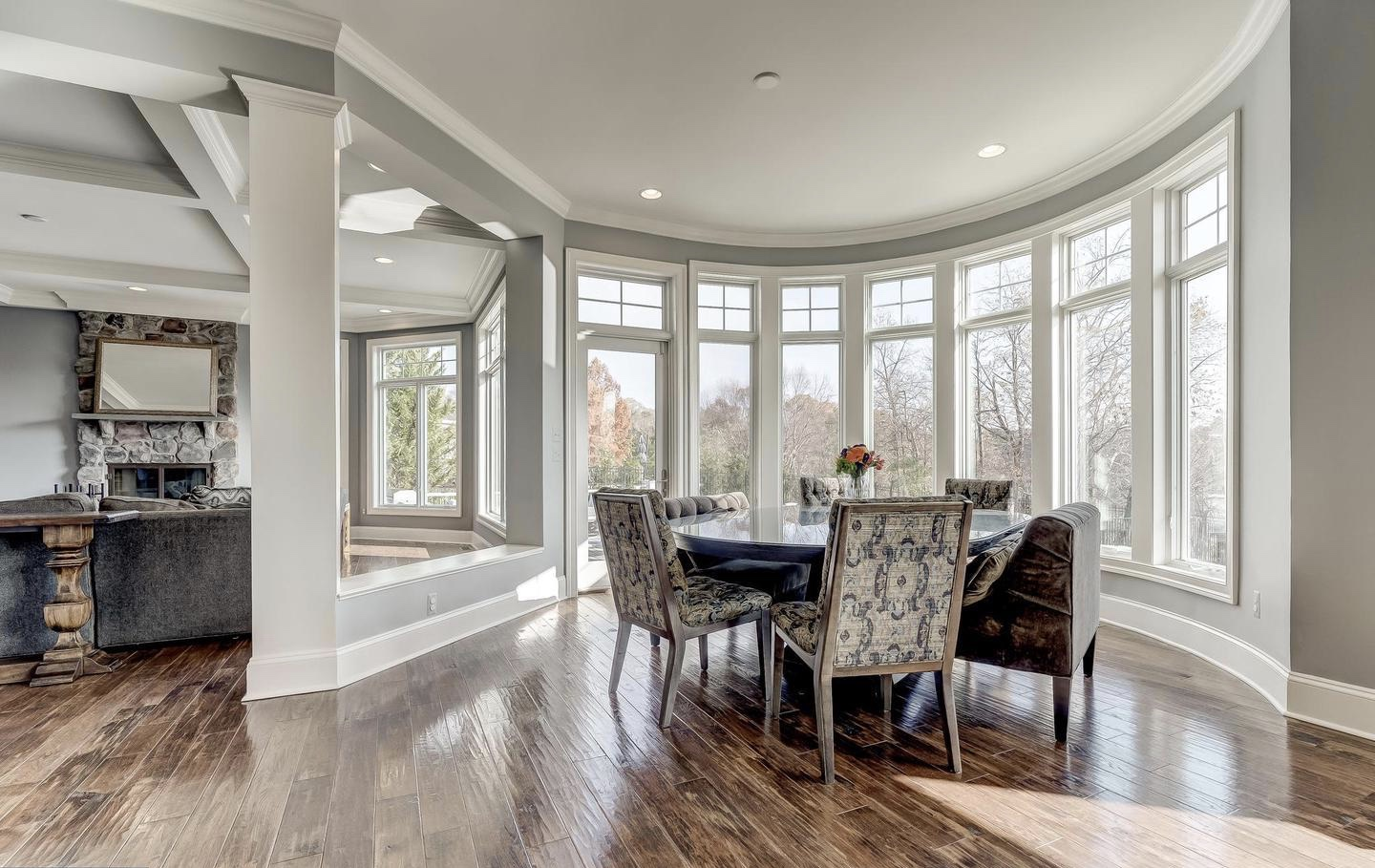 Dining Rooms Photos. New Homes in Central Maryland
