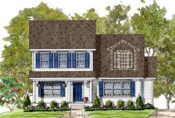 Stevens custom home