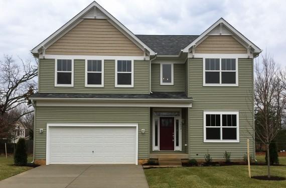 1404 Woodmead Court custom home