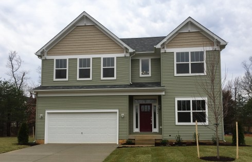 Homes in New homes in Prince Georges County.