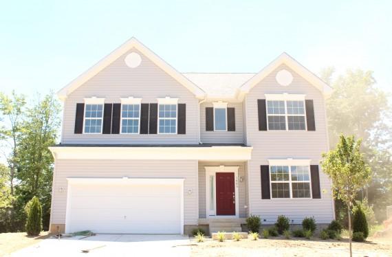 1406 Woodmead Court custom home