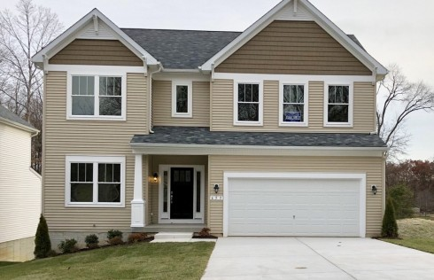Homes in Odenton.