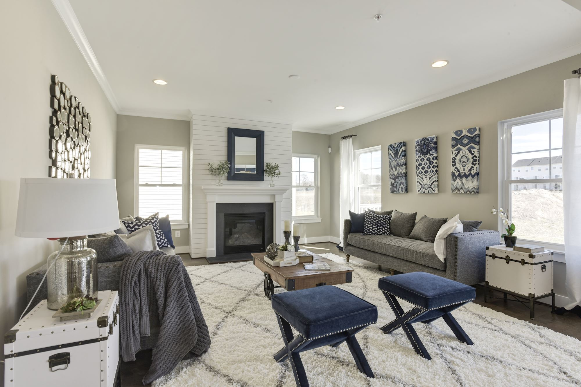 Fireplaces Photos. New Homes in Central Maryland
