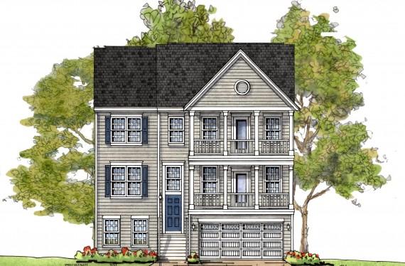 Stevensville custom homes