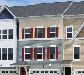 Homes in Stevensville.